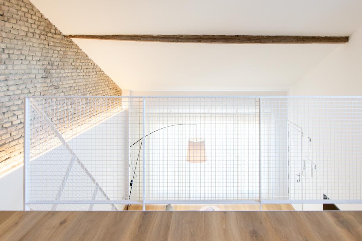 barandilla, reforma de una vivienda, estudio de arquitectura e interiorismo de Zaragoza